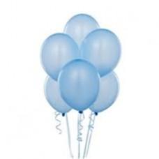 Açık Mavi Balon 20 Adet