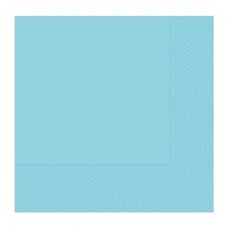 Acık Mavi Peçete 33x33 Cm 20 Li