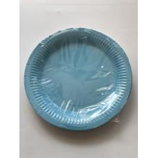 Açık Mavi Tabak 23Cm 8 Li