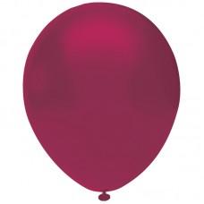 Bordo Balon Pastel Renk 12inç 20 Adet