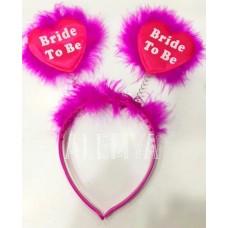 Bride To Be Fuşya Taç