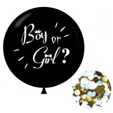 Cinsiyet Balonu Boy Or Girl 36 İnç 90 Cm