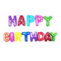 Happy Birthday Folyo Balon