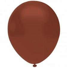 Kahverengi Balon Pastel Renk 12inç 20 Adet