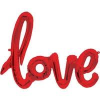 Love Folyo Balon Kırmızı
