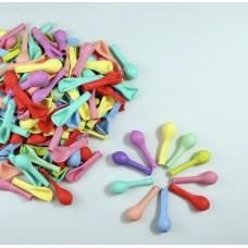 Makaron Balon Karışık Renk 10 Adet