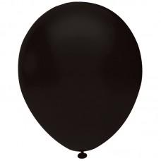 Siyah Balon Pastel Renk 12inç 20 Adet