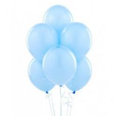 açık mavi balon 12 inç 5 adet