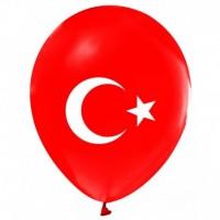 ayyıldızlı balon balon 12 inç 5 adet