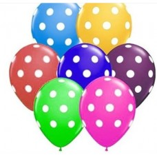 karışık balon 12 inç 5 adet