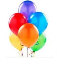 karışık metalik balon 12 inç 5 adet