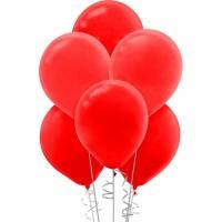 kırmızı balon 12 inç 5 adet