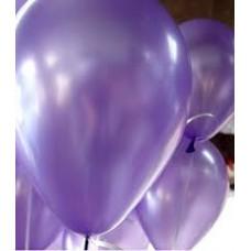 Metalik violet balon 12 inç 5 adet