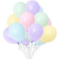soft balon karışık renk balon 12 inç 5 adet
