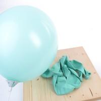 su yeşili balon 12 inç 5 adet