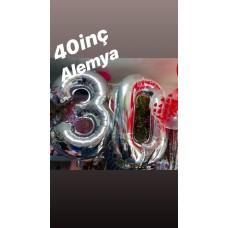 Balon Şişirme 40 İnç Alemya