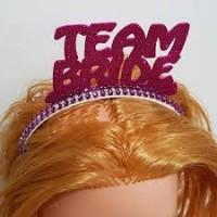 Team Bride Eva Taç Mor