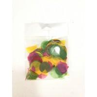 Renkli konfeti Paket