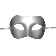 Gümüş Plastik Maske