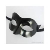 Siyah Plastik Maske