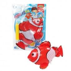 Şişme Balık Yüzen Hareketli 22 Cm Banyo Havuz Oyuncakları