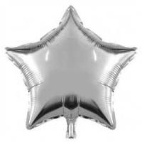 Yıldız Folyo Balon Gümüş 18 İnç