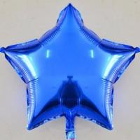 Yıldız Folyo Balon Mavi 18 İnç